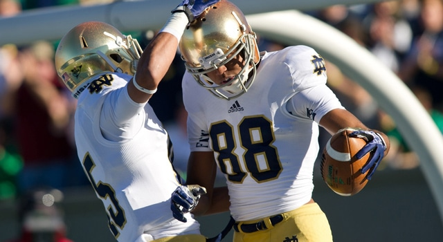 Corey Robinson & Will Fuller - Notre Dame WRs