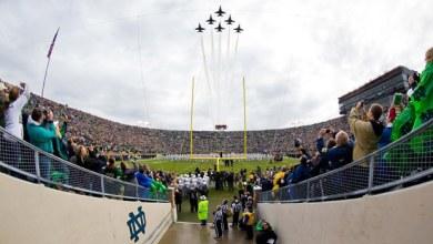 Notre Dame - Navy Highlights