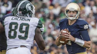 Tommy Rees - Notre Dame vs. Michigan State
