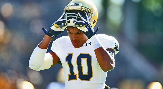 Max Redfield - Notre Dame Safety