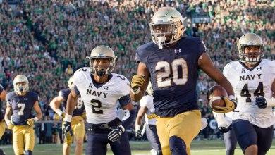 CJ Prosise - Notre Dame RB vs. Navy