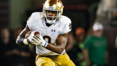 Notre Dame RB Dexter Williams vs. Virginia Tech