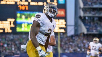 Notre Dame RB Dexter Williams