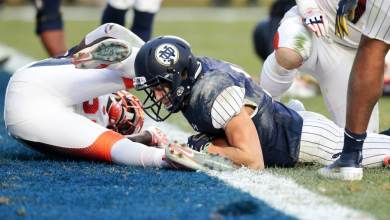 Notre Dame's redzone woes kept the Irish from blowing out Syracuse even more.
