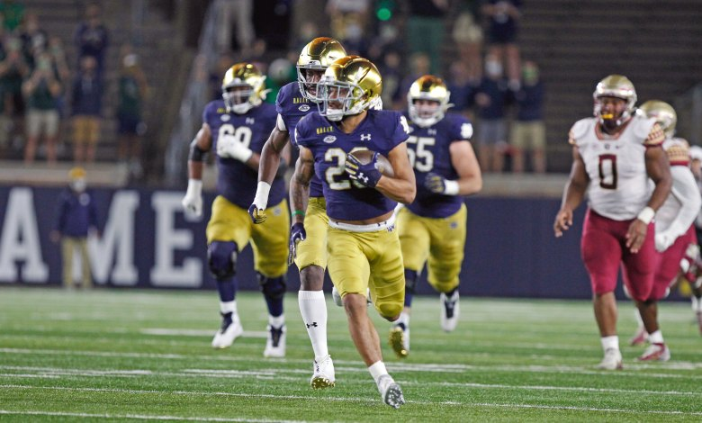 notre dame football schedule - photo #29