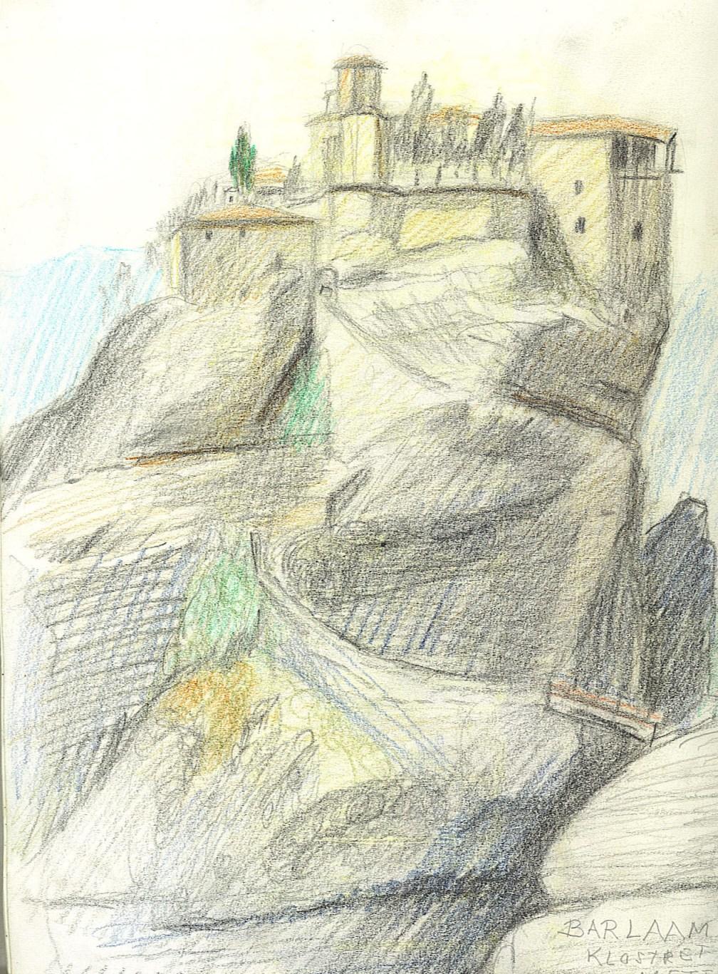 Bernth Uhno Drawings Greece