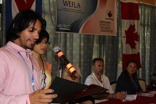 Sesiona en Guardalavaca, Cuba, Wefla 2016 y Seminario de estudios canadienses. Fotos: Dirección de Comunicación Institucional.