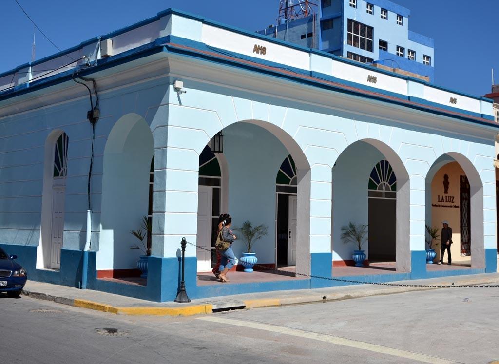 La sede de la AHS en Holguín acogió la Conferencia de Prensa ofrecida por directivos de la Universidad de Holguín con la presencia de periodistas de medios locales, el 25 de enero de 2017. UHO FOTO/Luis Ernesto Ruiz Martínez