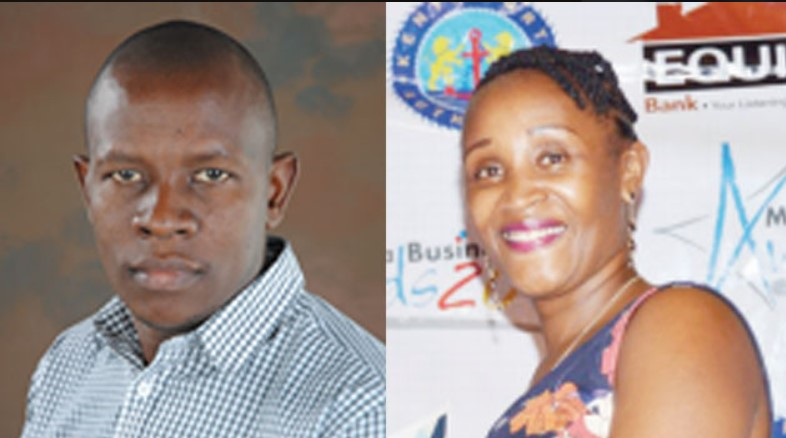 Kenya Ports Authority finance manager Patrick Nyoike was arrested alongside his wife Jacinta