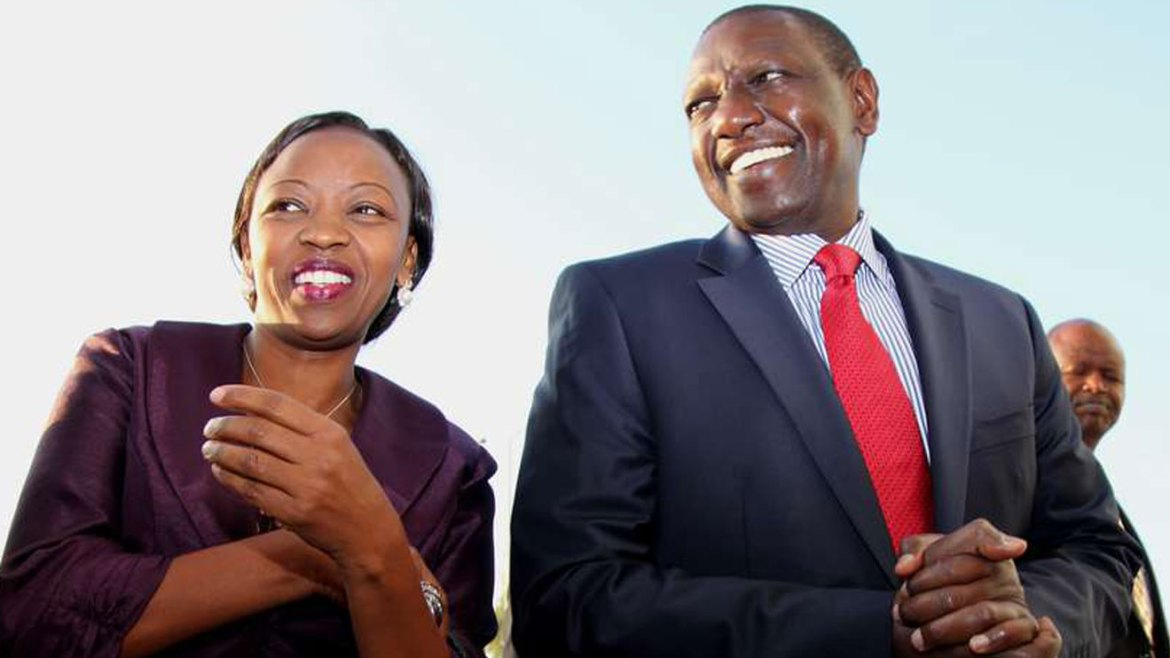 Deputy President William Ruto and his wife Rachael