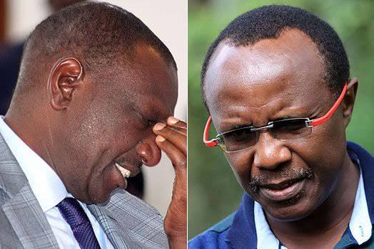 William Ruto and David Ndii