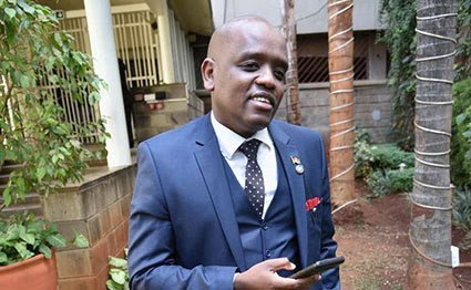 President Uhuru Kenyatta's former Communications Guru Dennis Itumbi. He now operates from DP William Ruto's office as secretary for digital.