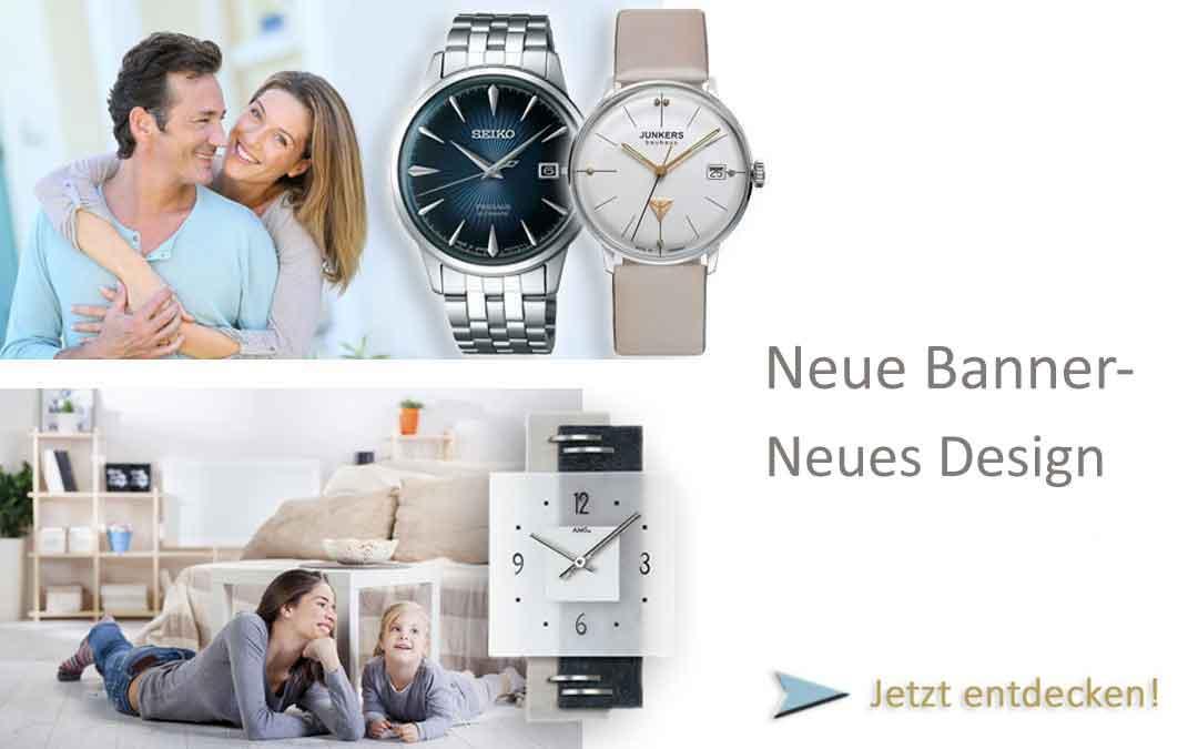 Die neuen Banner von Uhren4you.de!