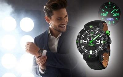 Beleuchtung und Leuchtziffern bei Armbanduhren