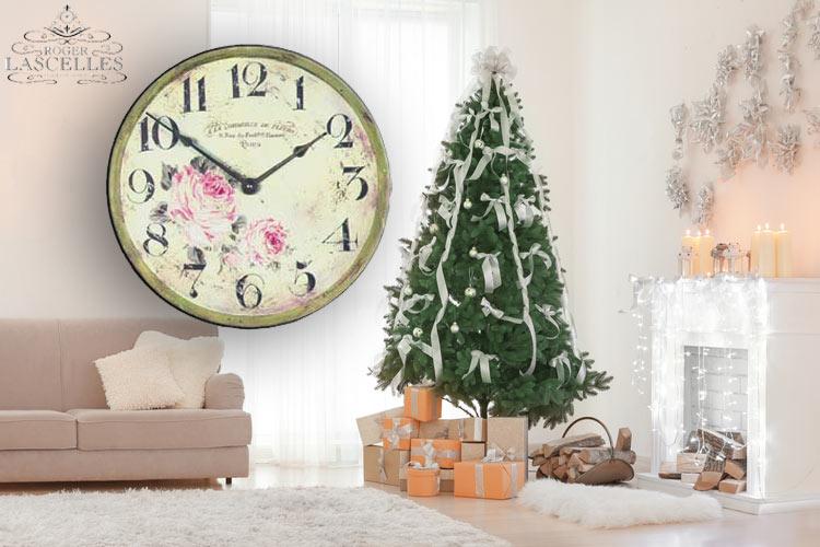 Romantische Uhr Roger Lascelles PUB/FLORIST