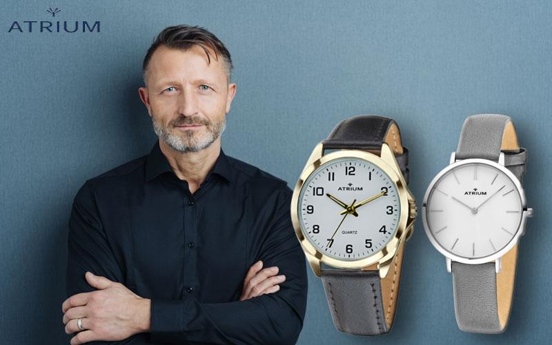Armbanduhren und Wecker von Atrium