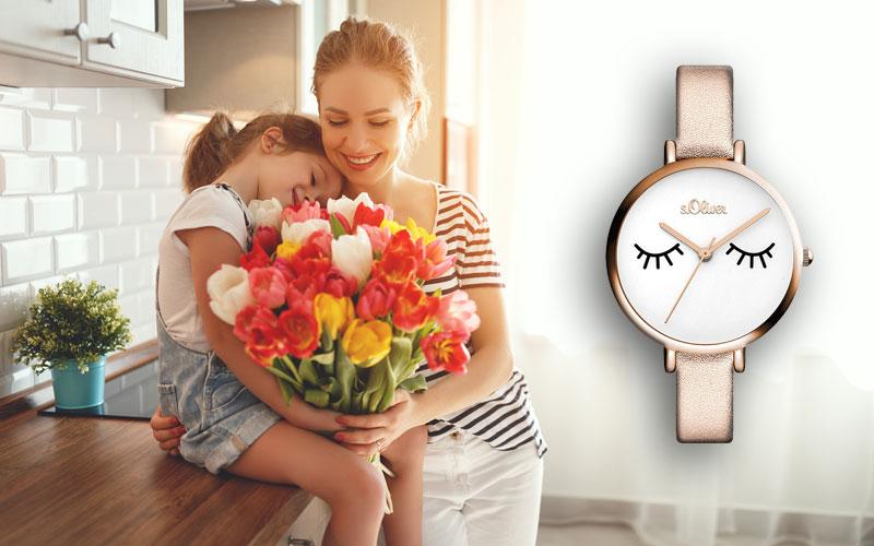 Eine Damenuhr zum Muttertag verschenken!