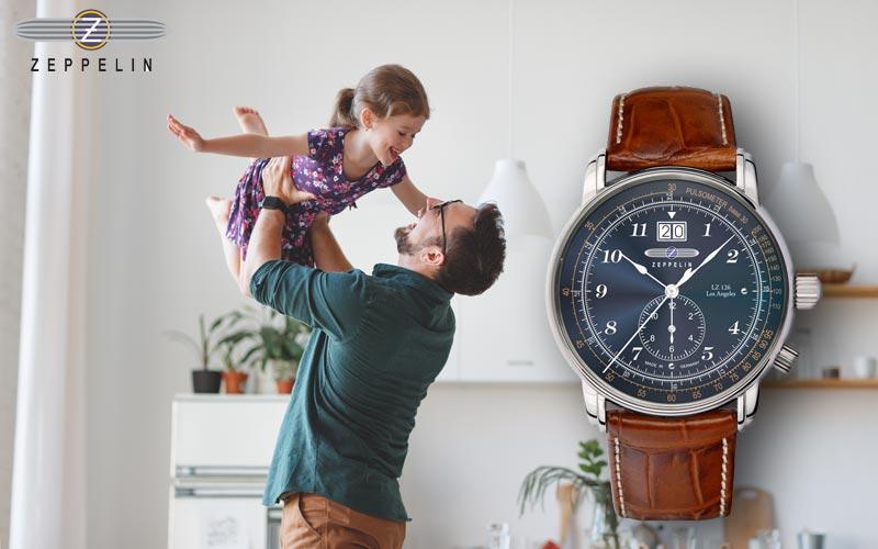 Zeppelin 8644-3 Armbanduhr als Freude zum Vatertag!