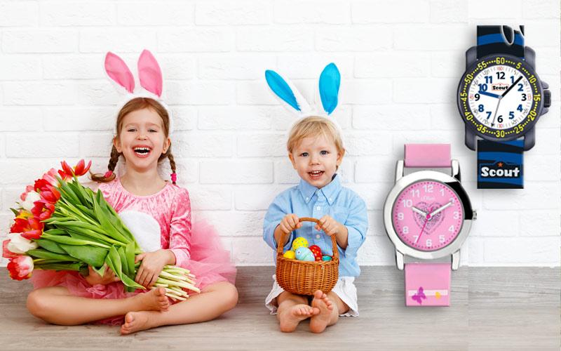 Kinderuhr zu Ostern verschenken