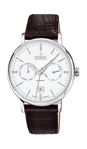 Dugena Herren-Armbanduhr FESTA KALENDER Analog Automatik Leder 7000330