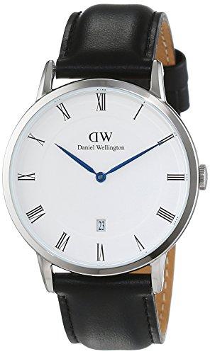 Daniel Wellington Dapper Herren-Armbanduhr Analog Quarz Leder - DW00100088