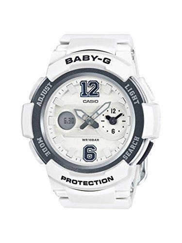 Casio Damen-Armbanduhr Baby-G Analog - Digital Quarz Resin BGA-210-7B1ER