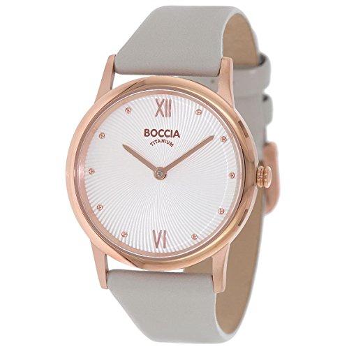 Boccia Damen-Armbanduhr 3265-03