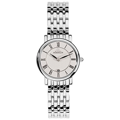 Michel Herbelin Unisex Erwachsene-Armbanduhr 16945/B01