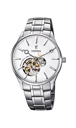 Festina Herren-Armbanduhr Analog Automatik Edelstahl F6847/1