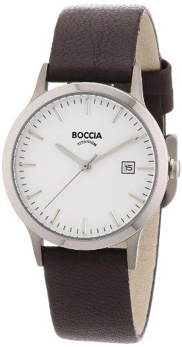 Boccia Damen-Armbanduhr Leder 3180-01