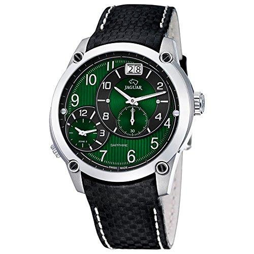 Jaguar Dual Time Herren-Armbanduhr J630/F