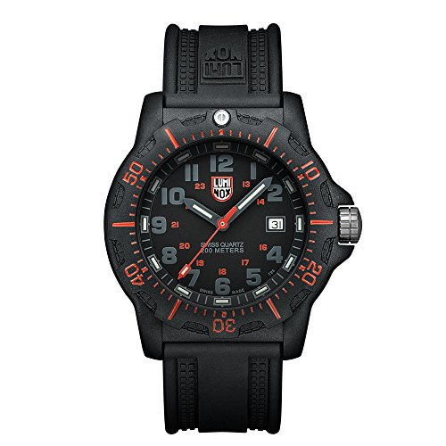 Luminox Black OPS PC Carbon Herren-Armbanduhr Analog Quarz Kautschuk - LU8815
