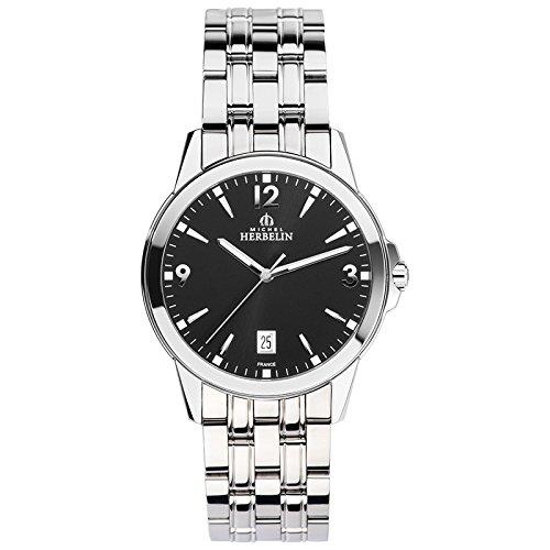 Michel Herbelin Unisex Erwachsene-Armbanduhr 12250/B14