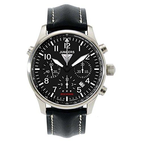 Junkers 6626-2 Herren-Uhr Chronometer Chronograph Automatik