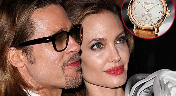Angelina Jolie Gives Brad Pitt Vintage Watch Worth 3 Million 2 3 Million as Wedding Gift 460524 2
