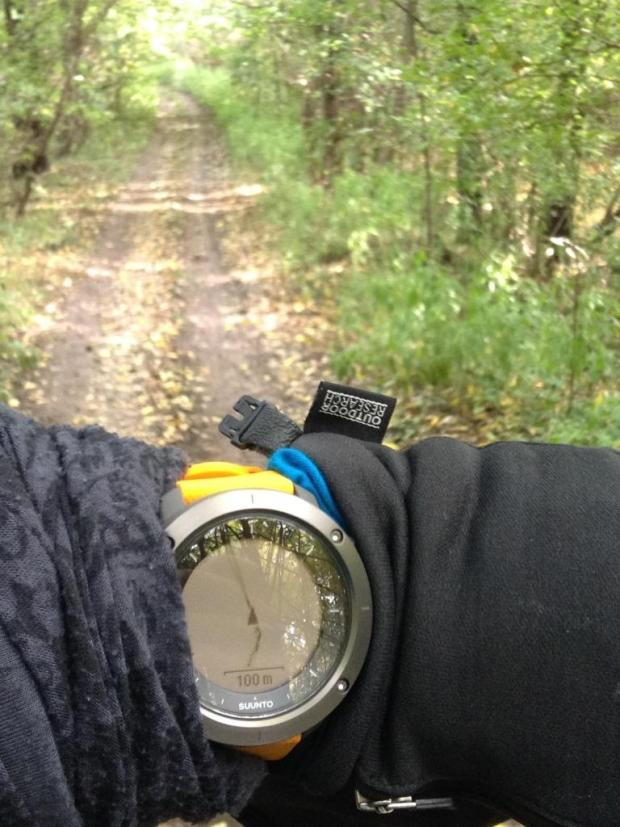 Suunto Traverse in Use