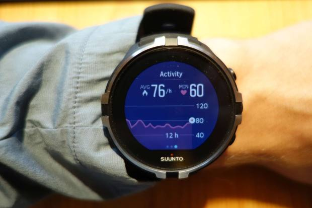 Suunto Spartan WHR Baro Activity Screen (HR)