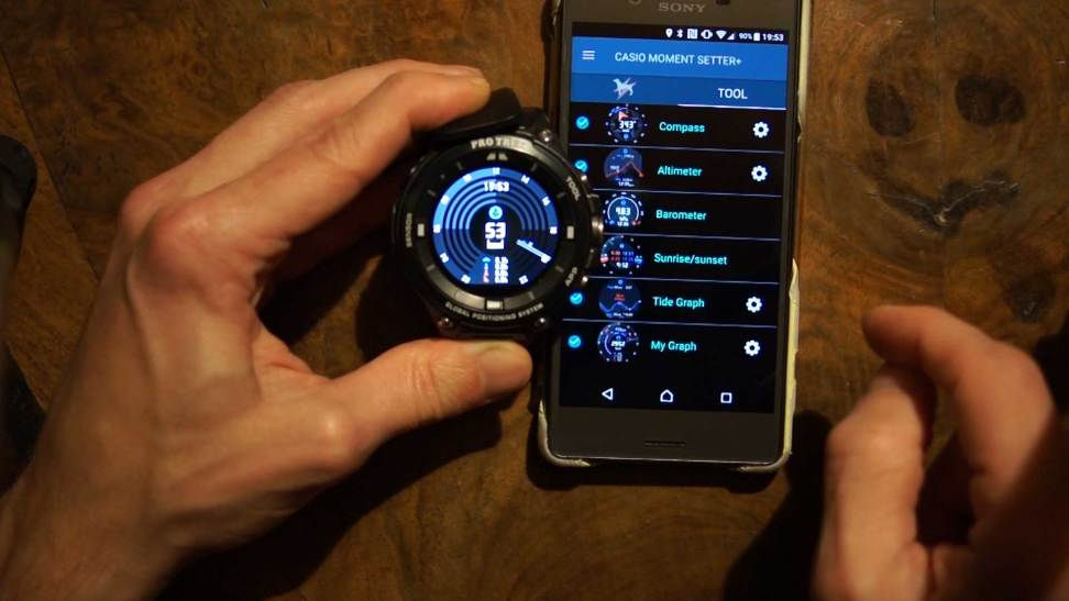The Casio ProTrek Smart WSD-F20: Casio Apps (Tool, Activity