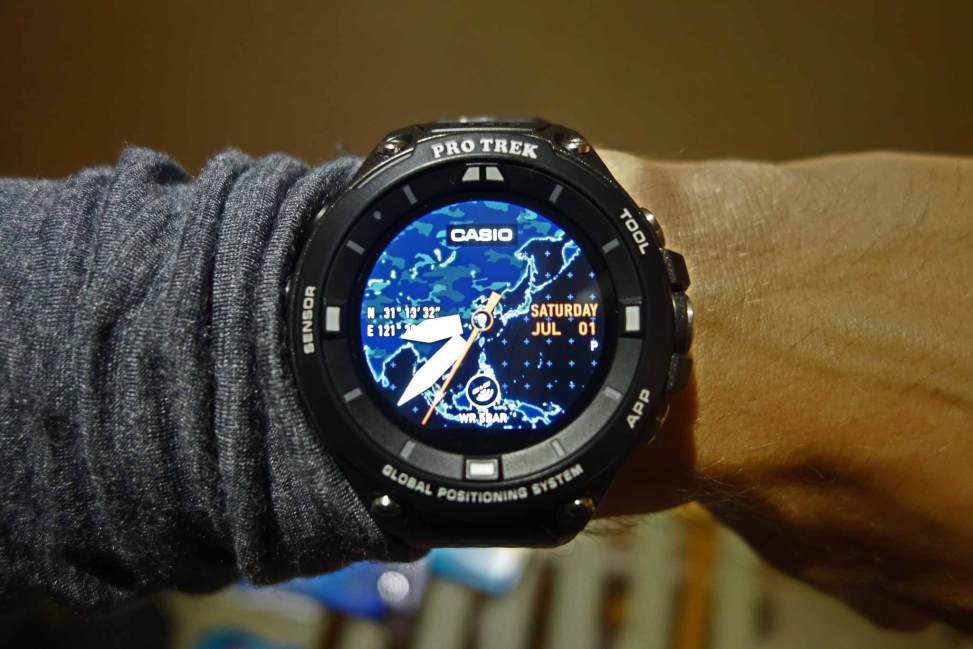 The Casio Protrek Smart Wsd F20 Introduction Basics Startup