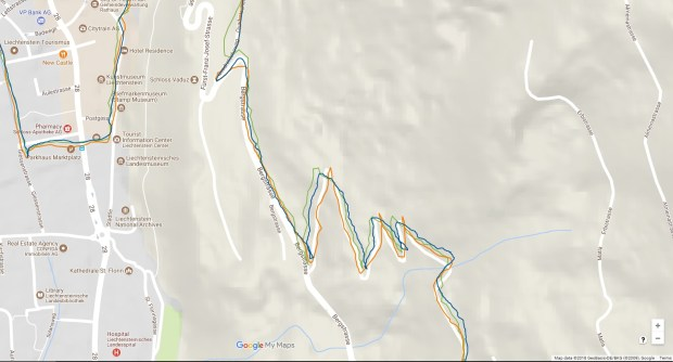 Suunto 9 GPS through Vaduz
