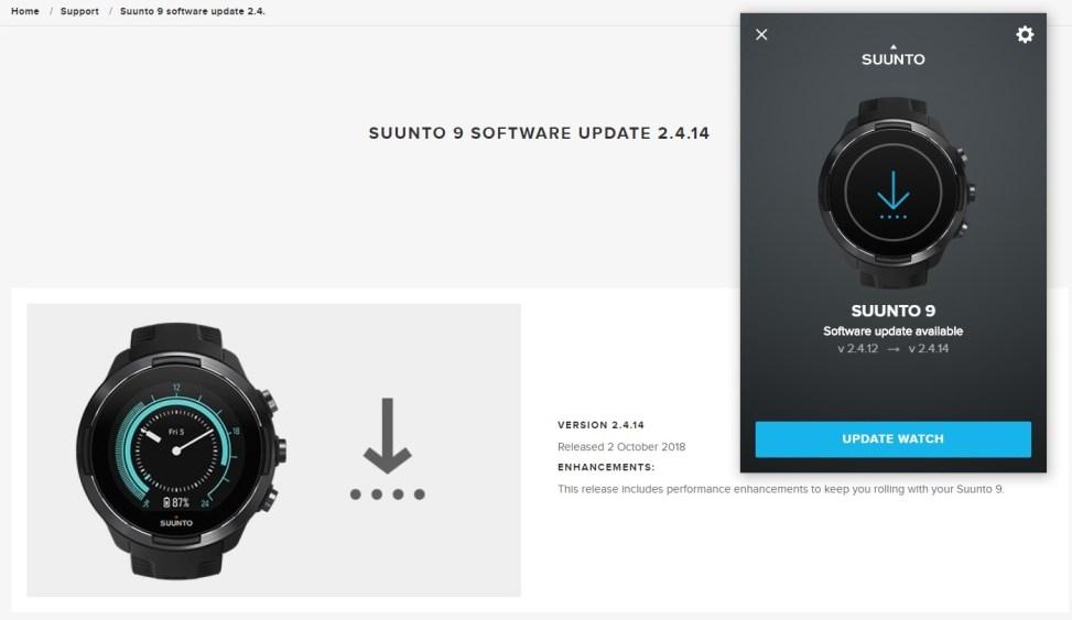 Suunto9 Update 2.4