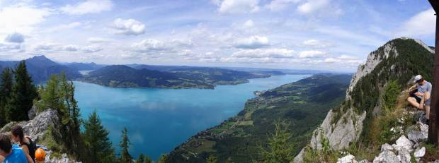 View to the Attersee