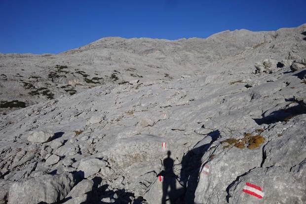 Dachstein Trail Markierungen