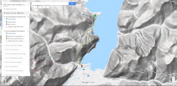 Sonnsteine-Weg, mein üblicher Test-Trail