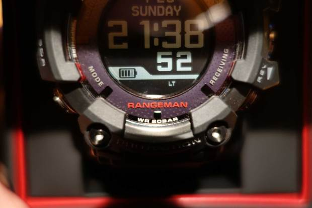 Casio Rangeman GPR-B1000: Looks and Functions - Time and Tours
