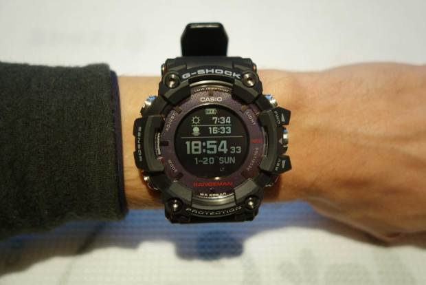 Rangeman Display (Watch Face) with Sunrise/-set