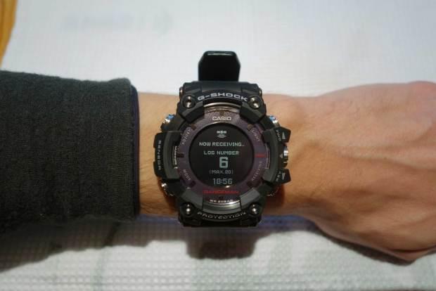 GPS-Start(versuch) der Casio Rangeman
