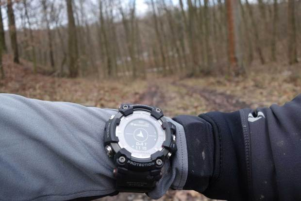 The Navigational - Unfortunately, Only Bearing - Arrow on the Casio Rangeman