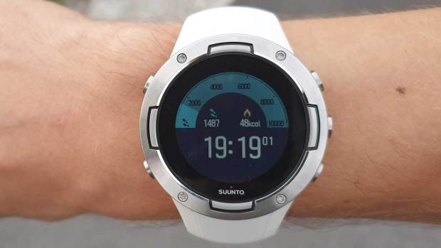 Suunto 5, New Outdoor Watchface, Third Screen