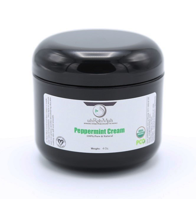 organic peppermint cream
